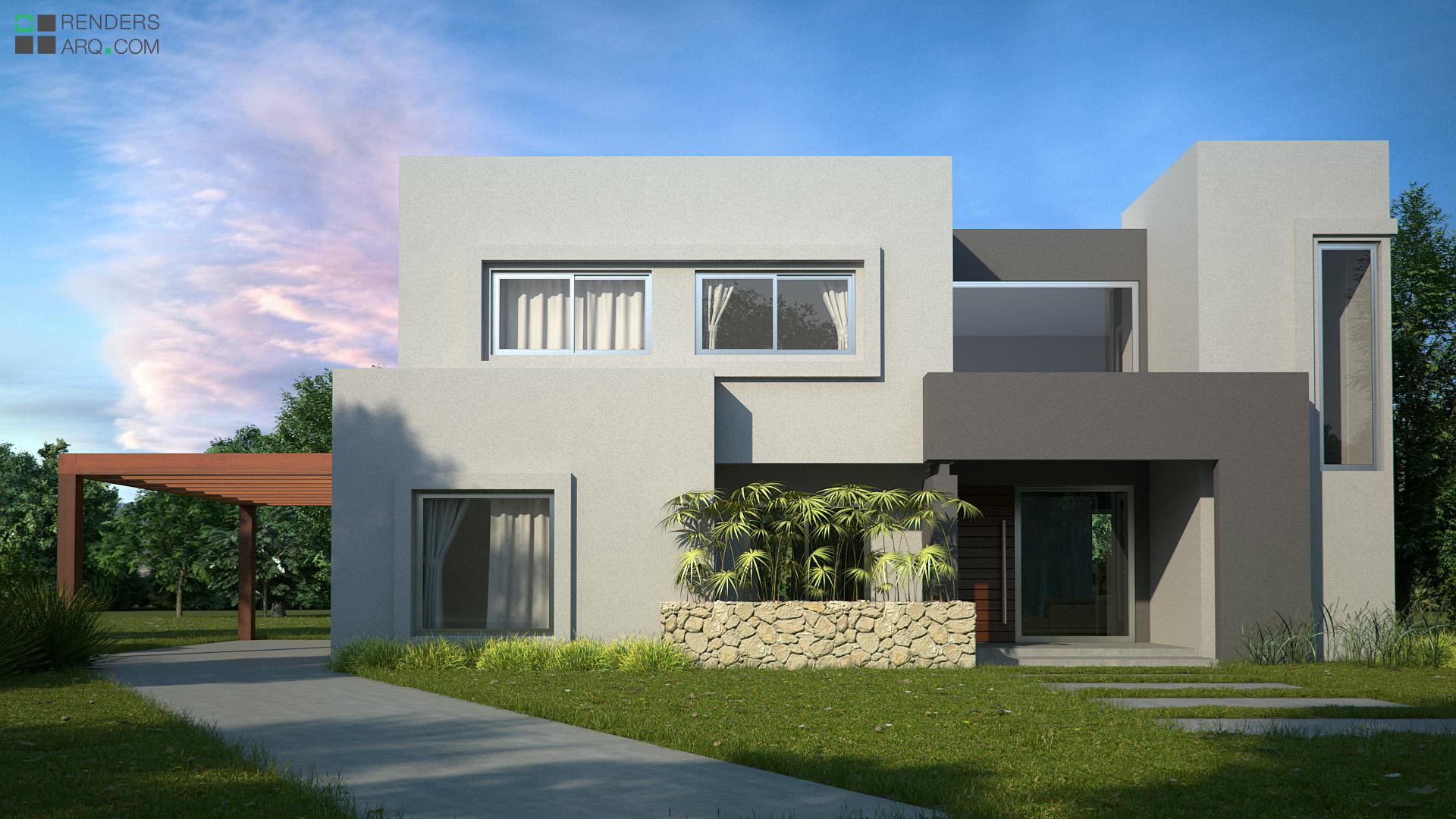 Renders exteriores renders arquitectura for Exterior oficinas