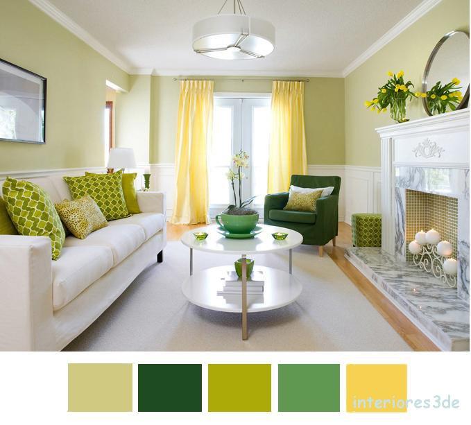 La osad a del color renders arquitectura for Decorar casa con muebles verdes